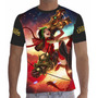 Camisa Camiseta Jinx Fogos De Artificio League Of Legend Lol