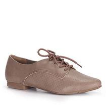 Sapato Oxford Feminino Via Marte - Caramelo