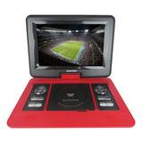 Dvd Portatil Águia Power 12,5' Tv Digital Cd Dvd Jogos Usb