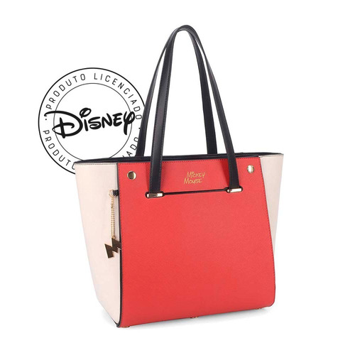 92524404f Bolsa De Ombro Mickey - Original Disney