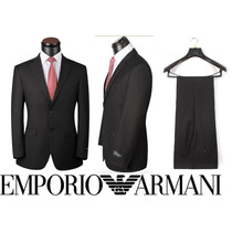 Terno Armani-100% Lã Fria-já No Brasil! Ideal Para O Verão!!