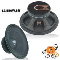 Alto Falante Oversound 12 550w12 8r 250wrms