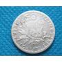 Moeda Antiga Prata 835 França 50 Centimes 1900 Rara Confira