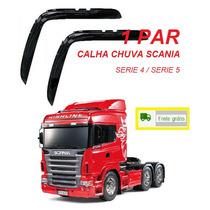 Jogo Calha Chuva Caminhão Scania 114 124 G Serie 5 Highline