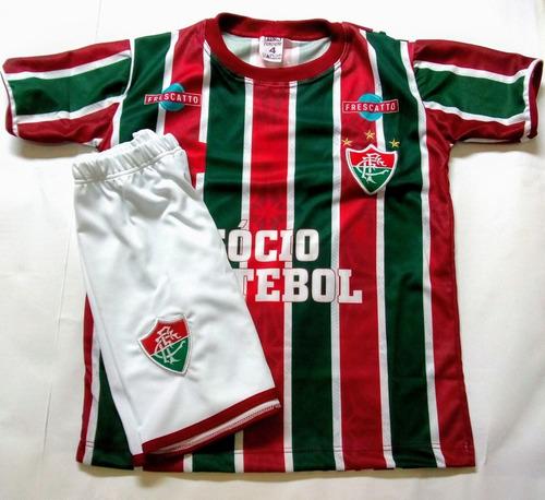 195335226346c Conjunto Uniforme Infantil Fluminense