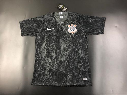 Camisa Corinthians Nike 2018 2019 Lançamento - Frete Gratis. Preço  R  160  Veja MercadoLibre 1b8378da7ce46