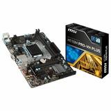 Placa-mãe Msi Intel Lga 1151 Matx H110m Pro Plus Ddr4 Hdmi
