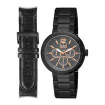 Relógio Masculino Dumont Rotor Du6p29abm/4c Troca Pulseira