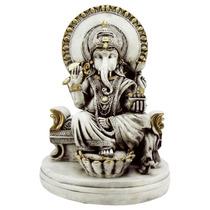 Ganesha 35 Cm. - Sr. Dos Obstáculos - Estatueta - Escultura
