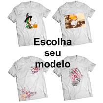 Camisa Camiseta Diversas Estampas - Promoção