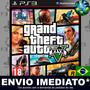 Ps3 Gta V Gta 5 Grand Theft Auto Código Psn Português