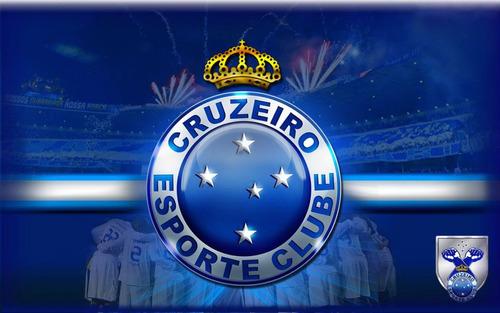 07ccc990fd968 Minas Gerais. R  60. 3 vendidos. Bandeira Cruzeiro Escudo Fundo Torcida  1x1