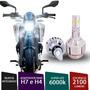 Lâmpada Super Led 3d H4 / H7 6000k Para Moto St 1100 Pan Eur