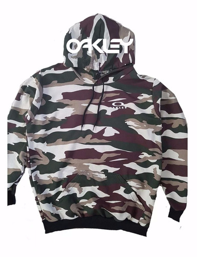 Blusa Moleton Oakley Moletom Casaco De Frio Camuflado f95633363e6b7