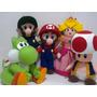 Mario Bros - Bonecos Turma Do Mario Decoração