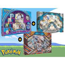 Combo Kit Cartas Pokémon Box Lunala + Snorlax Gx +lycanroc