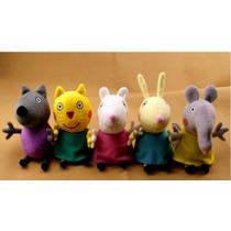 5 Amigos Peppa Pig (briquedo De Pelúcia)