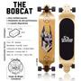 Skate Longboard Twodogs Bobcat D2 Rebaixado Abec 11 Frete Gr