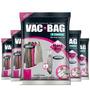 Combo: 5 Saco A Vácuo C/ Cabide Vac Hang Bag 70 X 120 Ordene