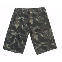 Bermuda,shorts Sarja Masculina Camuflada Do Exército -barato