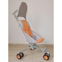 Carrinho De Bebe 3 Rodas Luxo Dobrável + Bolsa Compacto Leve