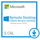 5 Cal Acesso Remoto User Ou Device P/windows Server 2012 R2