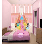 Papel De Parede Disney Princesas Infantil Feminino M² Ndp07