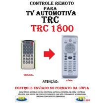 Controle Remoto Para Tv Automotiva Trc 1800 /// Fbt 1626