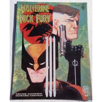 Graphic Novel Nº 20: Wolverine & Nick Fury - Conexão Scorpio