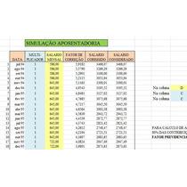 Planilha Inss - Calcule E Simule Sua Aposentadoria Inicial