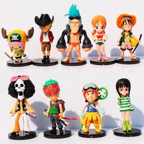 Bonecos One Piece Luffy, Zoro, Brook, Nami, Chooper E Outros