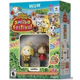 Animal Crossing Amiibo Festival Bundle Wii U Novo Lacrado