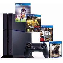 Playstation 4 Ps4 + 2 Jogos - Pronta Entrega - Rafa Gamer!