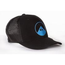 Busca Boné Quiksilver Aba Curva Flexfit azul com os melhores preços ... 5f014c5c024