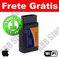 Scanner Diag. Auto Obd2 Wifi Iphone Ipad Apple Frete Grátis