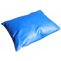Kit Com 10 Almofadas Travesseiro Impermeável 40 X 40 Cm Napa