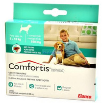 Anti Pulgas Para Caes Comfortis De 9 A 18kg 560mg - Elanco