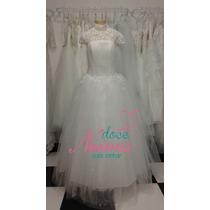 Vestido Noiva Debutante Cristã Evangelica Novo Pronta Entreg