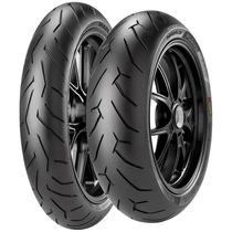 Pneu De Moto Pirelli Diablo Rosso 2 130/70-17 62h Traseiro