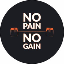 Capa Estepe Tracker Tiggo Freelander No Pain No Gain Cc753