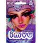 Cartão Pré-pago Imvu - R$ 20 Moeda Virtual *envio Automatico