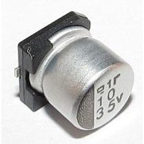 Capacitor Eletrolítico Smd 10uf 35v Emb. 10 Pçs.