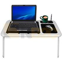 Mesa Dobrável Notebook Tablet Cooler Mousepad Usb Cama T115