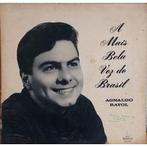 Disco De Vinil Lp Agnaldo Rayol - A Mais Bela Voz Do Brazil