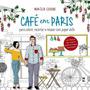 Cafe Em Paris: Livro Para Colorir, Recortar Com Paper Dolls Original
