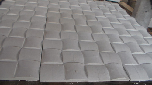 Forma Para Fundir Mosaico Em Gesso Modelo Almofada 28x28