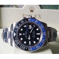 Relógio Eta A2836 Modelo Gmt Master Ii Batman