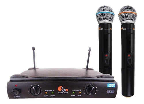 Kit De Microfones Kadosh Kdsw-402m Dinâmico Cardióide