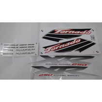 Kit Adesivos Xr 250 Tornado 2003 Branca
