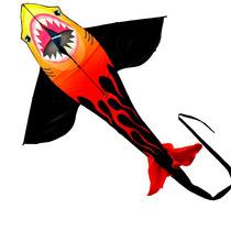 Pipa Em Poliéster\ Nylon Tubarão 1,40 M X 1,50 M